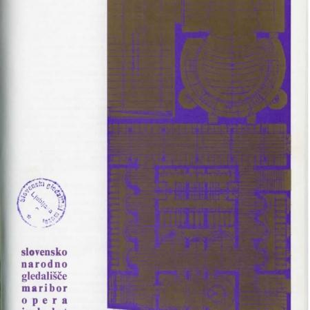 Slovo od mladosti: gledališki list (SNG Maribor, 1978)