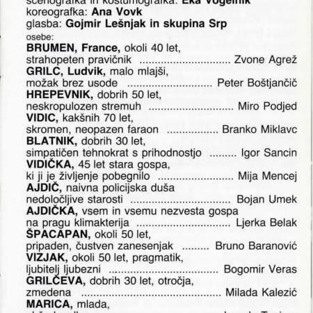 Pravopisna komisija: gledališki list