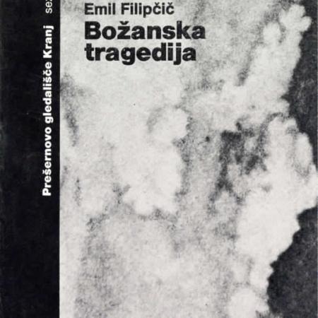 Božanska tragedija, gledališki list