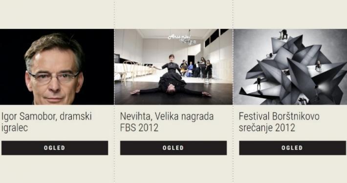 Festival Borštnikovo srečanje 2012