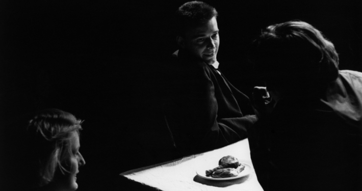 Gregor Strniša, Žabe ali Prilika o ubogem in bogatem Lazarju, Drama SNG v Ljubljani, 1986/87