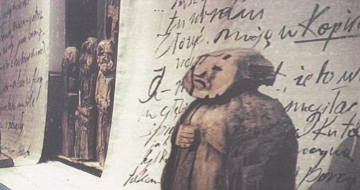 Razstava o delu poljske scenografke, režiserke in lutkarice Leokadije Serafinowicz je nastala v sodelovanju z Inštitutom za umetnost Poljske akademije.