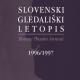 Slovenski gledališki letopis so predstavili urednik Štefan Vevar in izvedenci za posamezne gledališke zvrsti in pisci spremnih interpretacij.