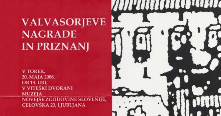 Slovensko muzejsko društvo je Valvasorjevo priznanje za leto 2007 podelilo skupini – Ivo Svetina, direktor Slovenskega gledališkega muzeja.