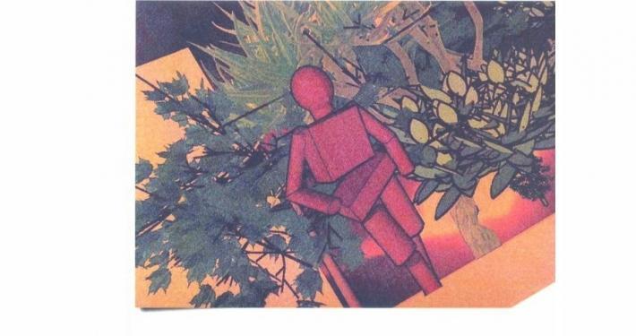 Ivanka Apostolova, širše znana predvsem po svojih stripih in teoretično raziskovalnem delu, se ukvarja tudi z gledališko scenografijo in kostumografijo.