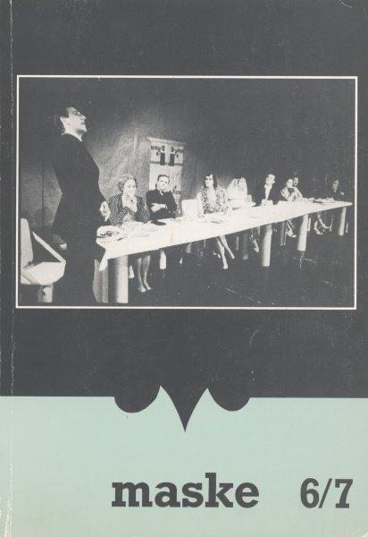 Maske, revija za gledališče, 1985-1991