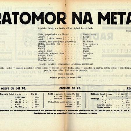 Bratomor na Betnavi: letak 1935