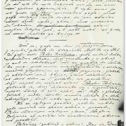 Manuscript of the early version of Cankar's last play Lepa Vida (Fair Vida).