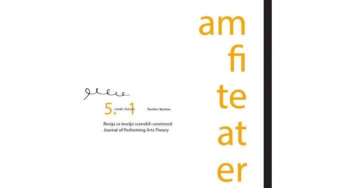 Predstavitev nove številke Revije za teorijo scenskih umetnosti Amfiteater