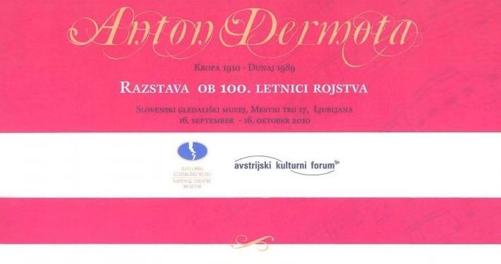 Med najpomembnejše pevske umetnike v vrsti velikih slovenskih tenoristov na evropskih in svetovnih odrih se uvršča tudi Anton Dermota.