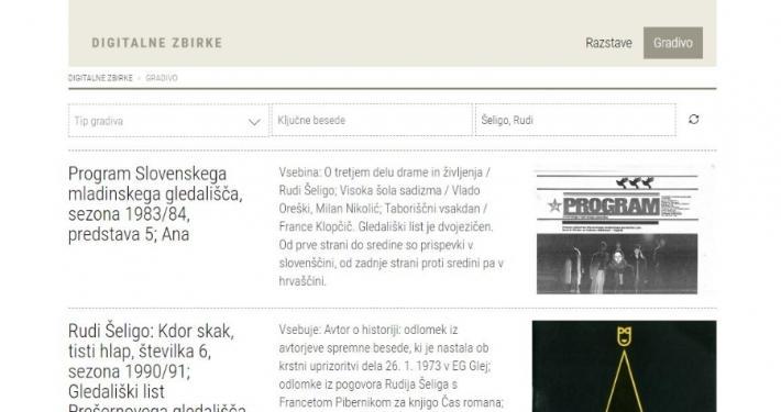 Slovenski gledališki muzej in zavod Novi Zato. sta leta 2008 začela s pripravo spletne različice Letopisa slovenskega gledališča.