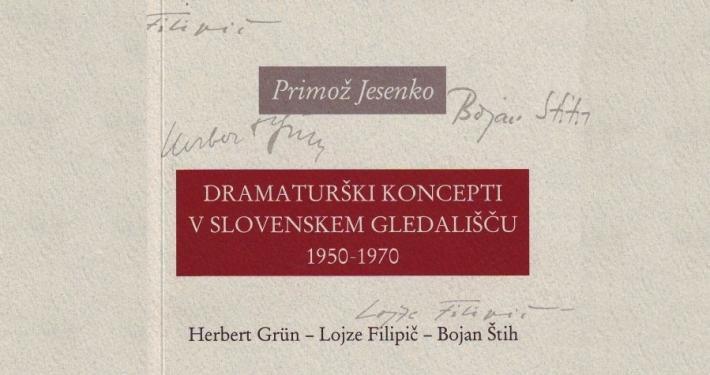 Knjiga je izšla kot 85. izdaja zbirke Dokumenti Slovenskega gledališkega muzeja, izdala pa sta jo Slovenski gledališki muzej in AGRFT, Univerza v Ljubljani.