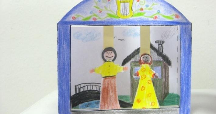 Družine z otroki lepo vabimo, da se nam v nedeljo, 11. septembra ob 16.40 pridružite na 11. otroškem bazarju, kjer pripravljamo ustvarjalno delavnico Moje gledališče v malem.