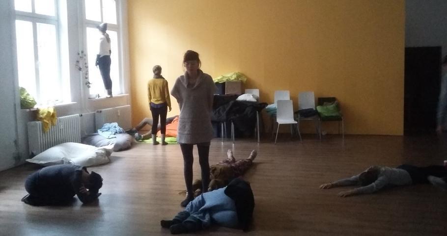 Poti h gledališki pedagogiki, strokovno usposabljanje