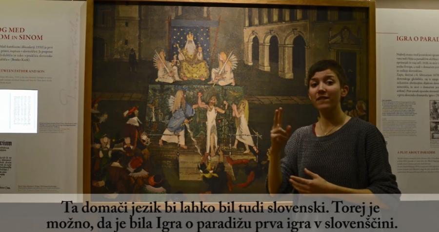 Video vodič je pripravila Melanie Likar v okviru projekta Dostopnost do kulturne dediščine ranljivim skupinam.