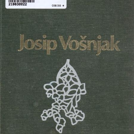 Josip Vošnjak: Spomini