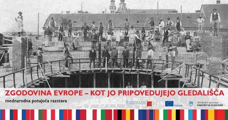 Zgodovina Evrope – kot jo pripovedujejo gledališča