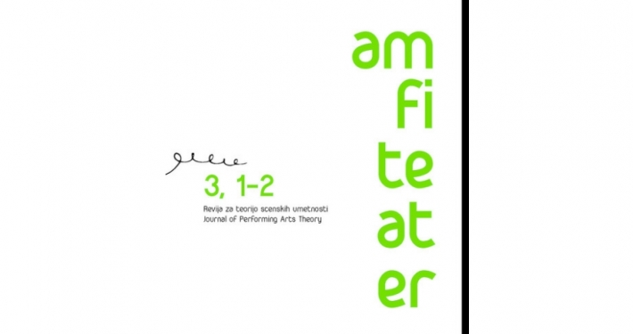 Nova dvojna številka Revije za teorijo scenskih umetnosti Amfiteater predstavlja mednarodno empirično raziskavo z imenom Študija mest
