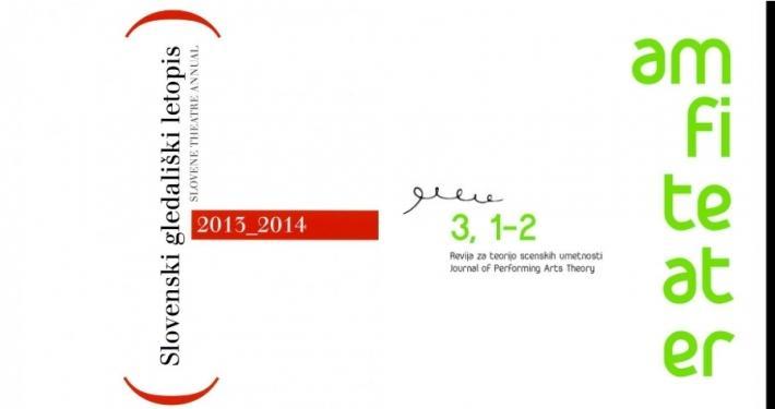 Slovenski gledališki letopis 2013/2014 in Znanstveno revijo Amfiteater