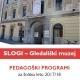 KATALOG PEDAGOŠKIH PROGRAMOV SLOGI – Gledališkega muzeja za šolsko leto 2017/2018