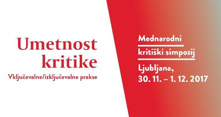 Tretja kritiška debata v okviru 4. mednarodnega kritiškega simpozija Umetnost kritike, gostujoči dogodek
