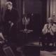 Miroslav Krleža: Gospoda Glembajevi, 1946/47. Vladimir Skrbinšek kot Leone Glembay in Ivan Levar kot Ignacij J. Glembay. Vir: Ikonoteka SLOGI – Gledališki muzej.
