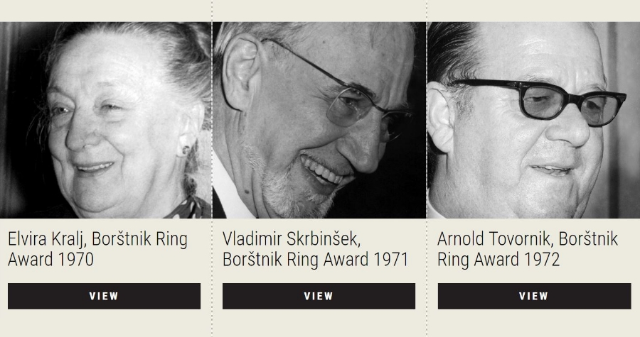 Virtual exhibition (e-xhibition) has been created to celebrate 50 Years of the Maribor Theatre Festival (2015) under the title The Borštnik Ring Award