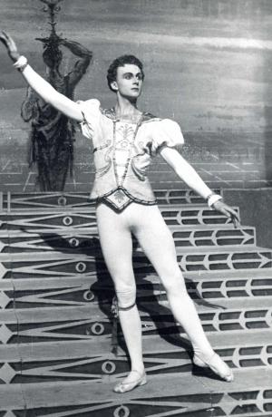 Janez Mejač as Prince, Sergei Prokofev, Cinderella. A ballet in three acts composed to a libretto by Nikolai Volkov. SNT Opera and Ballet Ljubljana.