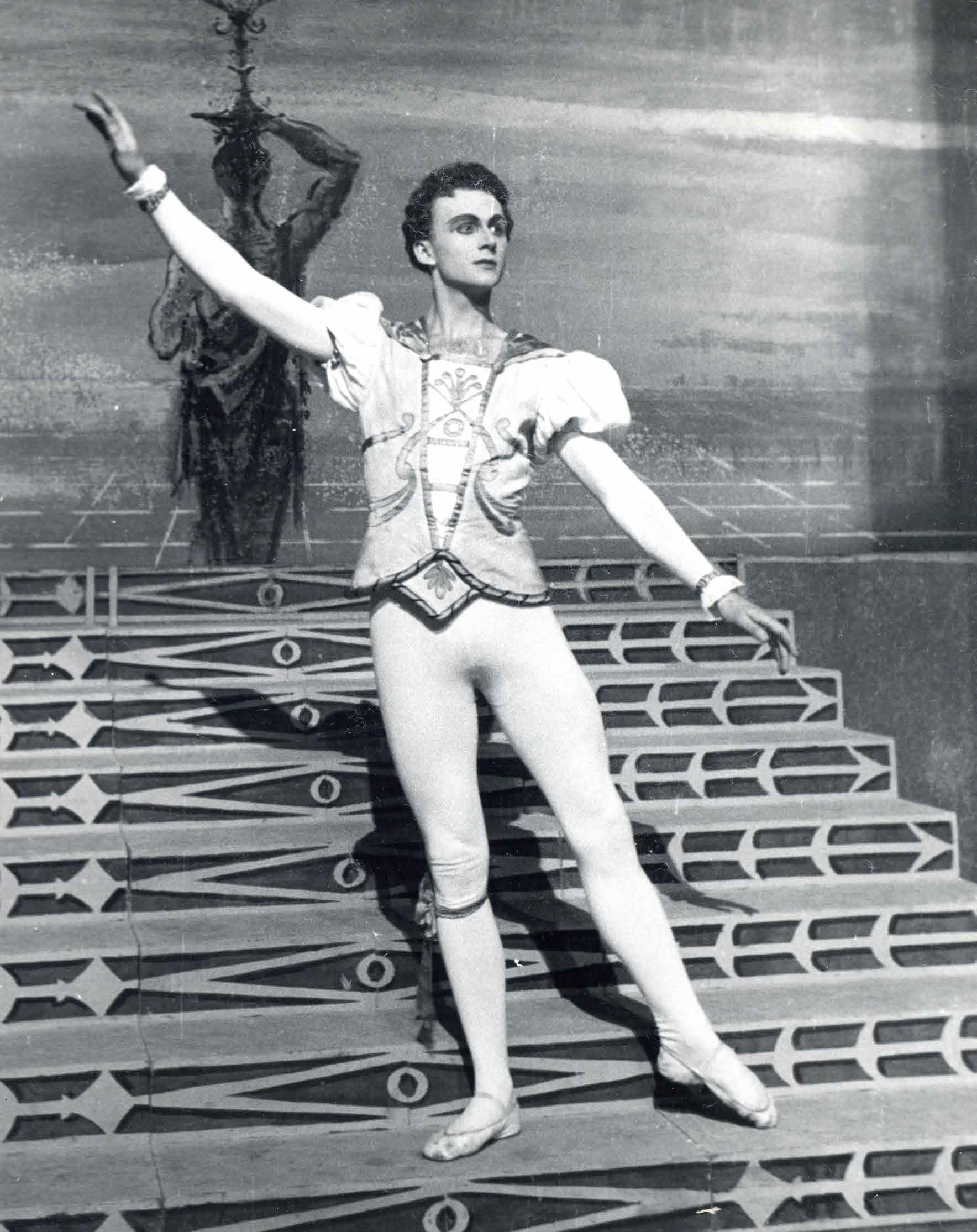 Janez Mejač as Prince, Sergei Prokofev, Cinderella. A ballet in three acts composed to a libretto by Nikolai Volkov. SNT Opera and Ballet Ljubljana.