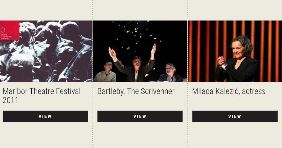 A virtual exhibition prepared by the Maribor Theatre Festival, Novi ZATO. Institute and the Slovenian Theatre Institute
