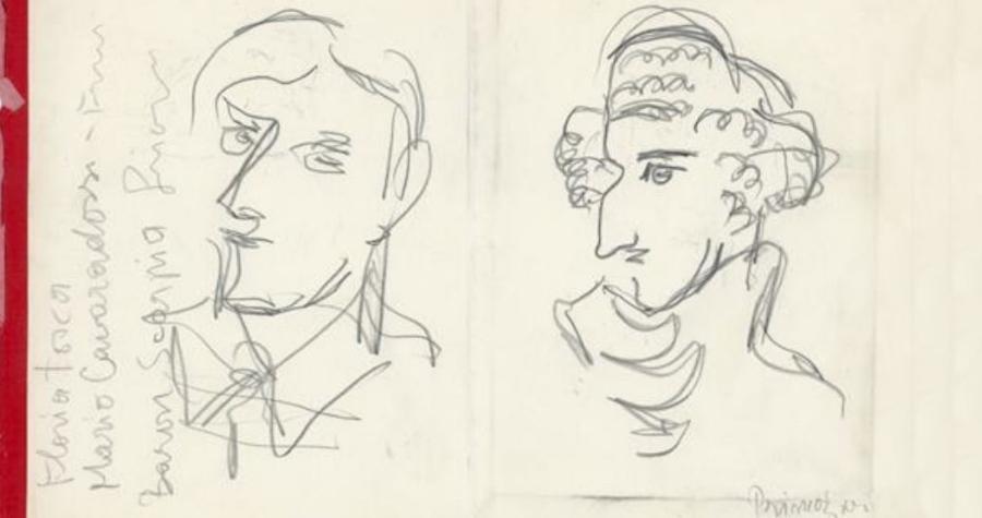 Slovenski gledališki inštitut – Gledališki muzej hrani zbirko portretnih risb in grafik Mihe Maleša. Miha Maleš se je uveljavil predvsem kot grafik.