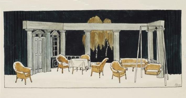 Akademski slikar v scenografu Milan Butina je scenografsko (včasih tudi kostumografsko) zasnoval več kot devetdeset uprizoritev slovenskih gledališč.