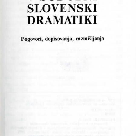 Razmerja v sodobni slovenski dramatiki, 992, Knjižnica MGL, št. 114