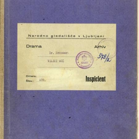 Inspicientska knjigo Branka Stariča