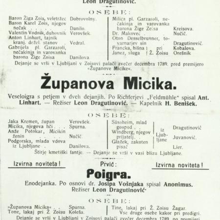 Letak Županovova Micika iz leta 1905