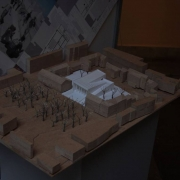 "An exhibition of student designs for ""The new theatre for the 21st Century"""