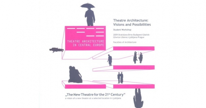 "n exhibition of student designs for ""The new theatre for the 21st Century"""