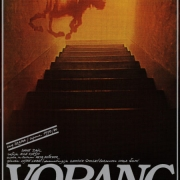 Plakat za krstno postavitev drame Voranc v režiji Mileta Koruna in izvedbi Drame SNG v Ljubljani. Dane Zajc je za besedilo leta 1979 kot prvi prejel nagrado Slavka Gruma. Plakat je oblikoval Matjaž Vipotnik.