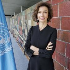 Audrey Azoulay. Vir: UNESCO.