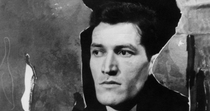 Rudi Kosmač in the poetic drama Children of the river by Dane Zajc (premiere 22 January 1962, directed by Taras Kermauner, Oder 57). Photo: Vlastja Simončič. Source: Iconotheque SLOGI – Theatre Museum.